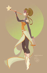 Character Design - Libra by MeoMai