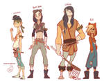 Character Design - Lost Boys
