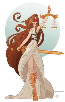 Commission - Lady of Justice