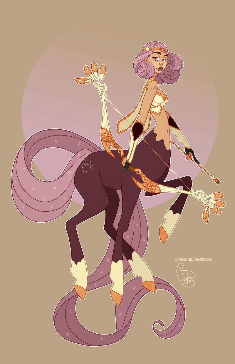 Character Design Artist Interviews : Character design sagittarius by meomai on deviantart