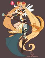 Character Design - Punk Sailor Moon by MeoMai