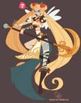 Character Design - Punk Sailor Moon
