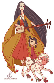 Kubo and the Two Strings Fan Art