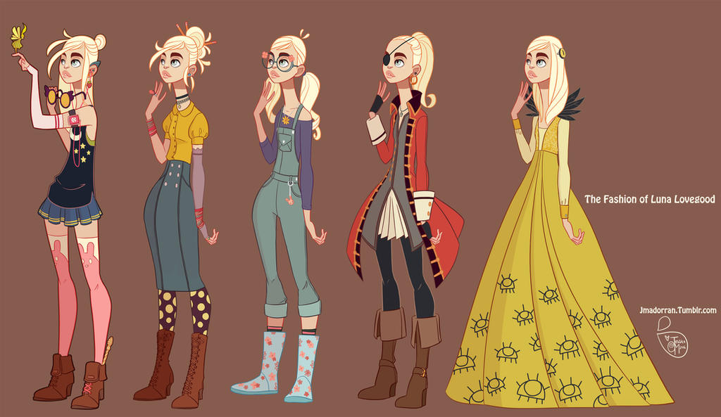 Fan Art Luna Lovegood By Meomai On Deviantart