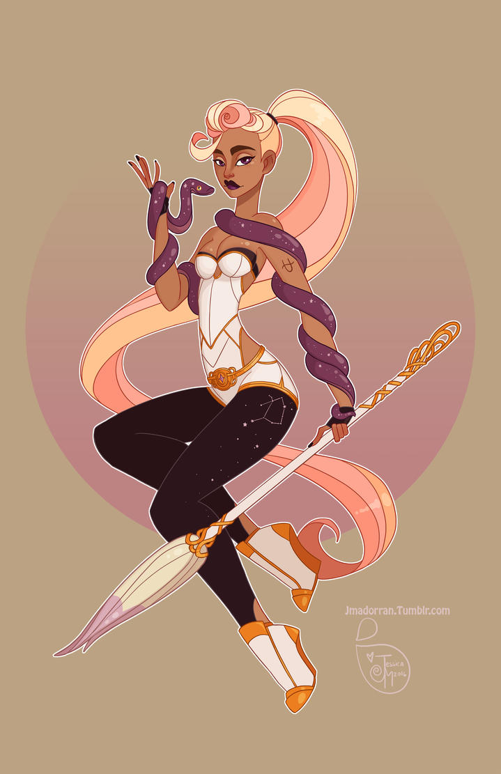 The Art Of Character Design Volume I : Character design ophiuchus by meomai on deviantart