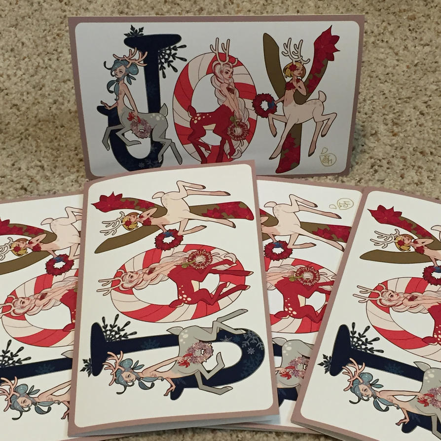 Christmas Cards For Sale by MeoMai