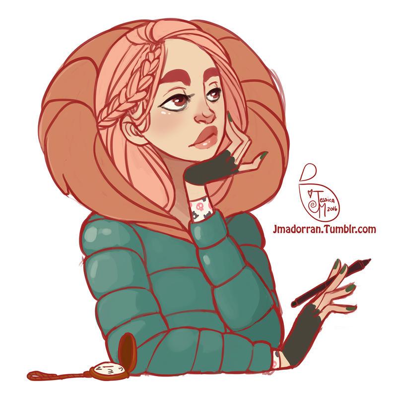 Character Design - Random Sketch by MeoMai