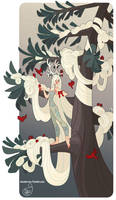 Character Design - Winter Tree Lady