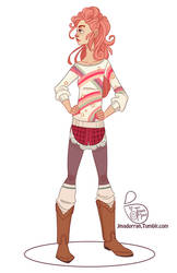 Character Design - Pink Hair by MeoMai