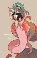Character Design - ECCC 2017 Mermaid by MeoMai
