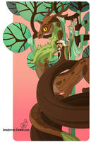 Tree Lady - Year of the Wood Dragon by MeoMai