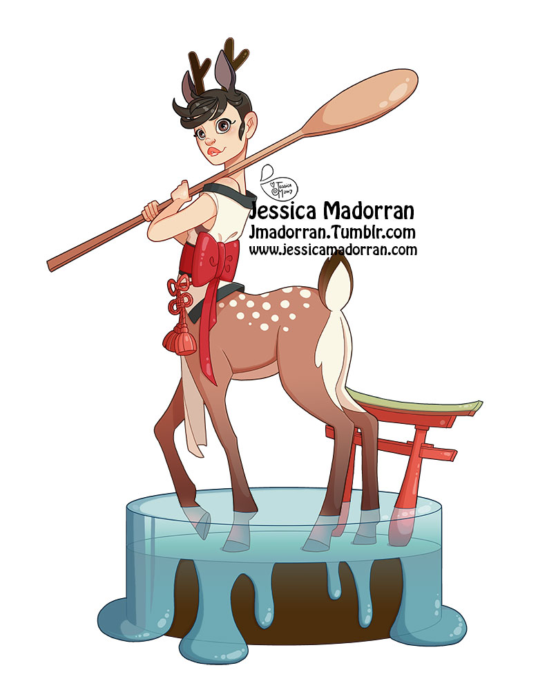 Character Design - Japan Inspired Character 12
