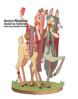 Character Design - Japan Inspired Character 13 by MeoMai