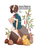 Character Design - Japan Inspired Character 17 by MeoMai