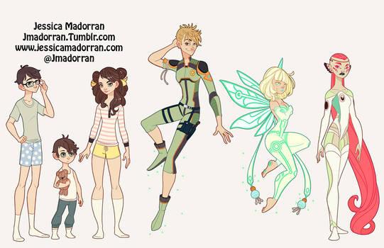 Character Design - Peter Pan