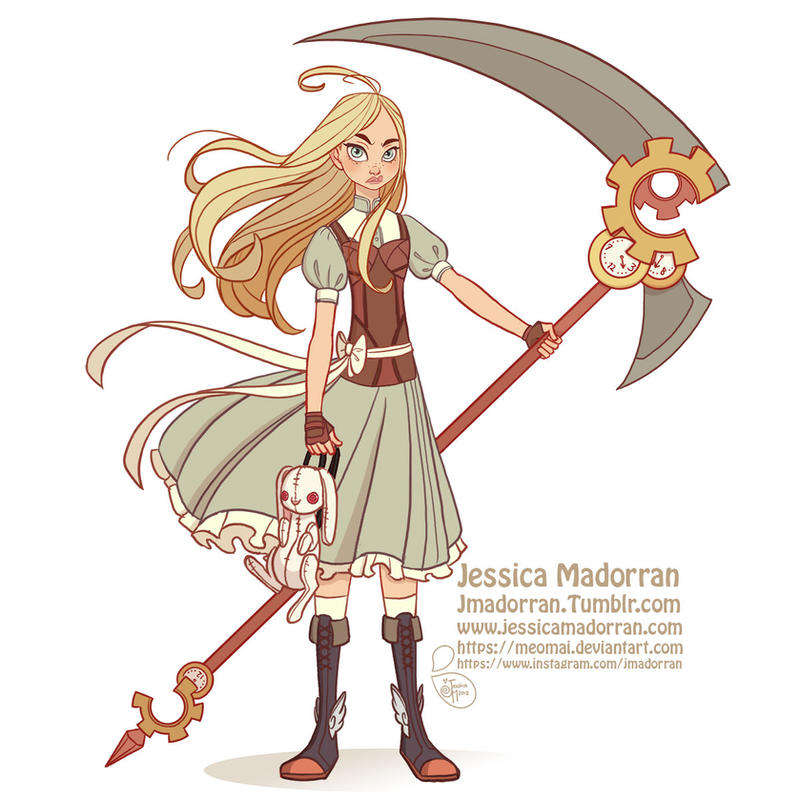 Anime Character Design Challenge : Character design challenge alice by meomai on deviantart