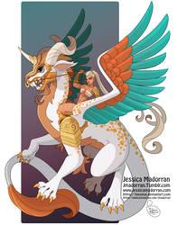Character Design - Dragon and Dragonrider