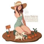 Character Design - Garden Bunny