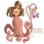 MerMay Day 05 - Squid Mermaid