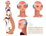 Character Design - Tiger Lily