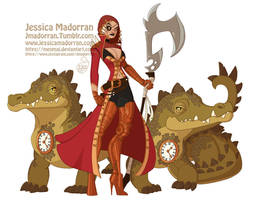 Character Design - Hook, Tic, and Toc