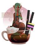 Drawlloween - Licorice Spice Mermaid