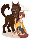 Drawlloween - Beauty and her Beast