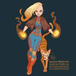 Fan Art - Captain Marvel by MeoMai