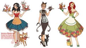 Character Design - DC 50s Fashion Theme