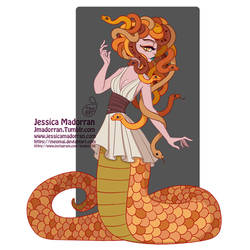 Drawlloween 11 - Medusa