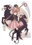 Character Design - Little Bo Peep and her Demonic