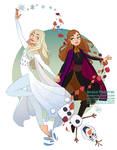 Fan Art - Elsa and Anna