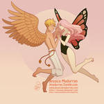 Character Design - Cupid and Psyche