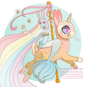 Easter Bunny - Mermaid Bunny 2020
