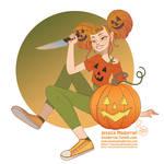 Patreon - Drawlloween 2020 - Pumpkin