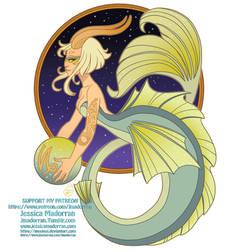 Patreon - May 2021 - Zodiac Mermaid - Capricorn