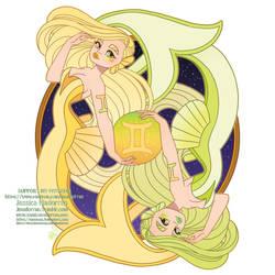 Patreon - May 2021  - Zodiac Mermaid- Gemini
