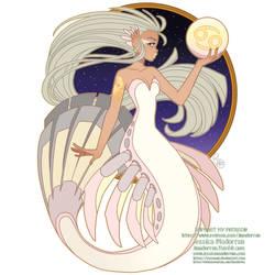 Patreon - May 2021  - Zodiac Mermaid- Cancer