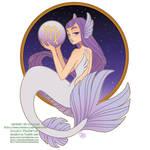 Patreon - May 2021 - Zodiac Mermaid - Virgo