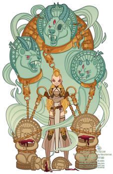 Patreon-June 2021 Illustration- Twisted Goldilocks