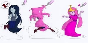 COM: Marceline the bubblegum queen?