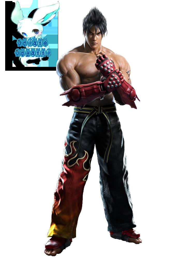jin kazama tekken tag tournament 2 render png by jdyanni