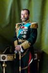 [COLORIZED] Tsar Nicholas II of Russia