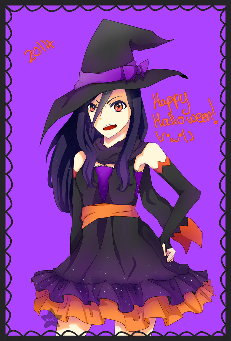 Happy Halloween 2014 by Rorosaur
