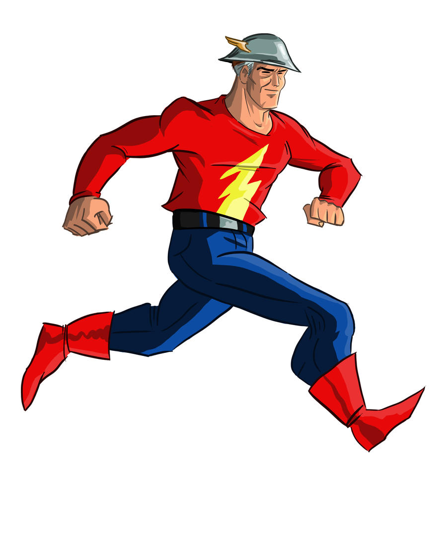 jay garrick flash coloring pages - photo#32
