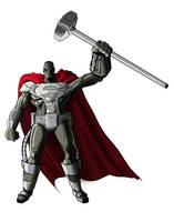The Man of Steel by Benjaminjuan