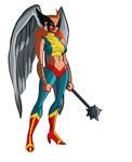 Hawkgirl by Benjaminjuan
