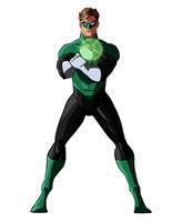 Modern Hal Jordan by Benjaminjuan