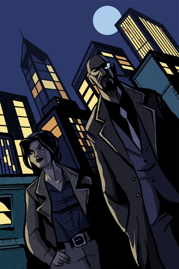 Gotham Central by Benjaminjuan