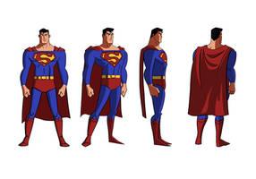 Superman turnaround by Benjaminjuan